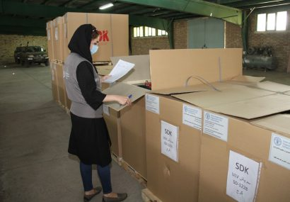 FAO delivers the first batch of desert locust control equipment to Iran